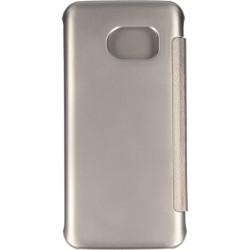 FLIP CLEAR VIEW ETUI NA TELEFON SAMSUNG GALAXY S7 G930 SREBRNY