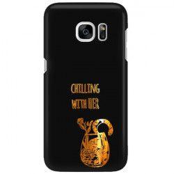 NEON GOLD ETUI NA TELEFON SAMSUNG GALAXY S7 G930 MIENIĄCE SIĘ ZLC106