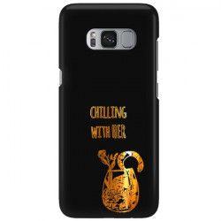 NEON GOLD ETUI NA TELEFON SAMSUNG GALAXY S8 MIENIĄCE SIĘ ZLC106