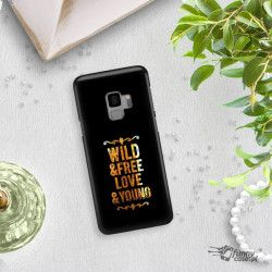 NEON GOLD ETUI NA TELEFON SAMSUNG GALAXY S9 G960 MIENIĄCE SIĘ ZLC111