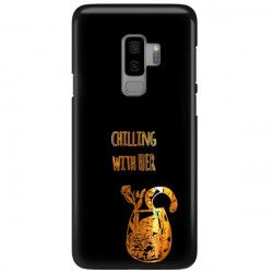 NEON GOLD ETUI NA TELEFON SAMSUNG GALAXY S9 PLUS G965 CZARN NEON ZLC106