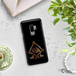 NEON GOLD ETUI NA TELEFON SAMSUNG GALAXY S9 PLUS G965 CZARN NEON ZLC115