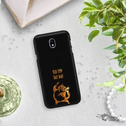 NEON GOLD ETUI NA TELEFON SAMSUNG GALAXY J7 2017 J730 MIENIĄCE SIĘ ZLC100