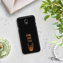 NEON GOLD ETUI NA TELEFON SAMSUNG GALAXY J7 2017 J730 MIENIĄCE SIĘ ZLC102