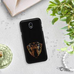 NEON GOLD ETUI NA TELEFON SAMSUNG GALAXY J7 2017 J730 MIENIĄCE SIĘ ZLC104