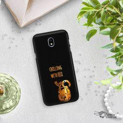 NEON GOLD ETUI NA TELEFON SAMSUNG GALAXY J7 2017 J730 MIENIĄCE SIĘ ZLC106