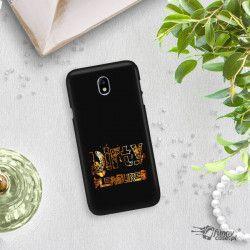 NEON GOLD ETUI NA TELEFON SAMSUNG GALAXY J7 2017 J730 MIENIĄCE SIĘ ZLC108