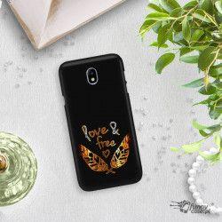 NEON GOLD ETUI NA TELEFON SAMSUNG GALAXY J7 2017 J730 MIENIĄCE SIĘ ZLC113