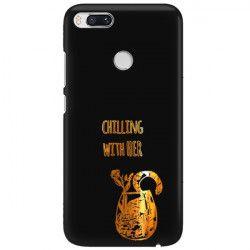 NEON GOLD ETUI NA TELEFON XIAOMI Mi 5X A1 MIENIĄCE SIĘ ZLC106