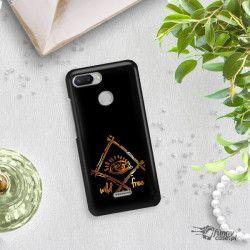 NEON GOLD ETUI NA TELEFON XIAOMI REDMI 6 MIENIĄCE SIĘ ZLC115