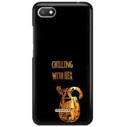 NEON GOLD ETUI NA TELEFON XIAOMI REDMI 6A MIENIĄCE SIĘ ZLC106