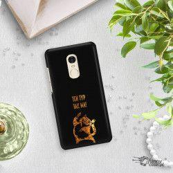 NEON GOLD ETUI NA TELEFON XIAOMI REDMI NOTE 4X MIENIĄCE SIĘ ZLC100