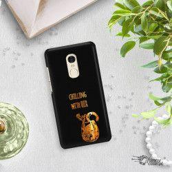 NEON GOLD ETUI NA TELEFON XIAOMI REDMI NOTE 4X MIENIĄCE SIĘ ZLC106