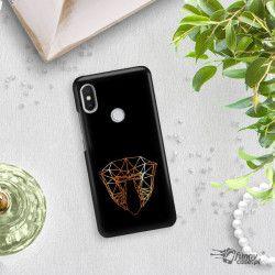 NEON GOLD ETUI NA TELEFON XIAOMI REDMI S2 MIENIĄCE SIĘ ZLC104