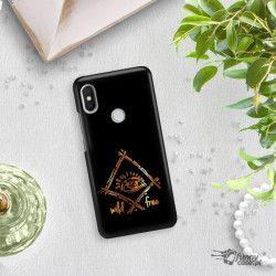 NEON GOLD ETUI NA TELEFON XIAOMI REDMI S2 MIENIĄCE SIĘ ZLZ115