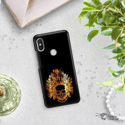 NEON GOLD ETUI NA TELEFON XIAOMI REDMI S2 MIENIĄCE SIĘ ZLZ120