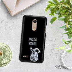 NEON SILVER ETUI NA TELEFON LG K10 2018 MIENIĄCE SIĘ ZLZ106