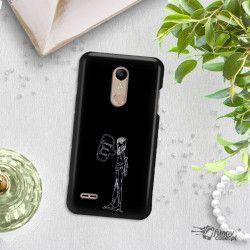 NEON SILVER ETUI NA TELEFON LG K10 2018 MIENIĄCE SIĘ ZLZ110