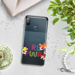 ETUI NA TELEFON HTC U12 LIFE CARTOON NETWORK ATOMÓWKI WZÓR AT505