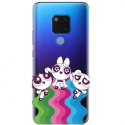 ETUI NA TELEFON HUAWEI MATE 20 CARTOON NETWORK ATOMÓWKI WZÓR AT501
