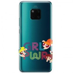 ETUI NA TELEFON HUAWEI MATE 20 PRO CARTOON NETWORK ATOMÓWKI WZÓR AT505