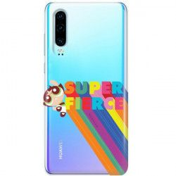 ETUI NA TELEFON HUAWEI P30 CARTOON NETWORK ATOMÓWKI WZÓR AT487