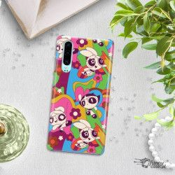 ETUI NA TELEFON HUAWEI P30 CARTOON NETWORK ATOMÓWKI WZÓR AT492