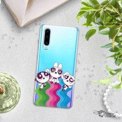 ETUI NA TELEFON HUAWEI P30 CARTOON NETWORK ATOMÓWKI WZÓR AT501