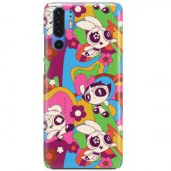 ETUI NA TELEFON HUAWEI P30 PRO CARTOON NETWORK ATOMÓWKI WZÓR AT492