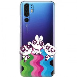 ETUI NA TELEFON HUAWEI P30 PRO CARTOON NETWORK ATOMÓWKI WZÓR AT501