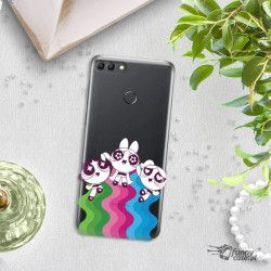 ETUI NA TELEFON HUAWEI Y9 2018 CARTOON NETWORK ATOMÓWKI WZÓR AT501