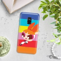 ETUI NA TELEFON SAMSUNG GALAXY A8 2018 CARTOON NETWORK ATOMÓWKI WZÓR AT489