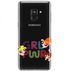 ETUI NA TELEFON SAMSUNG GALAXY A8 2018 CARTOON NETWORK ATOMÓWKI WZÓR AT505