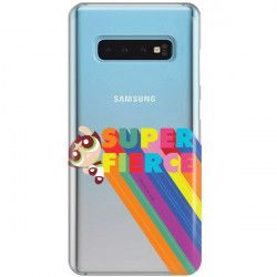 ETUI NA TELEFON SAMSUNG GALAXY S10 CARTOON NETWORK ATOMÓWKI WZÓR AT487