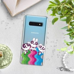 ETUI NA TELEFON SAMSUNG GALAXY S10 CARTOON NETWORK ATOMÓWKI WZÓR AT501