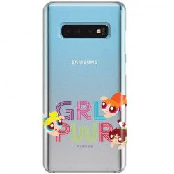 ETUI NA TELEFON SAMSUNG GALAXY S10 CARTOON NETWORK ATOMÓWKI WZÓR AT505