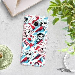 ETUI NA TELEFON SAMSUNG GALAXY S6 EDGE PLUS CARTOON NETWORK ATOMÓWKI WZÓR AT561