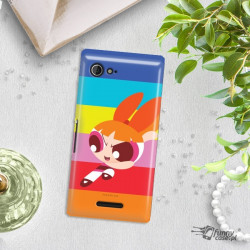 ETUI NA TELEFON SONY XPERIA E3 CARTOON NETWORK ATOMÓWKI WZÓR AT489