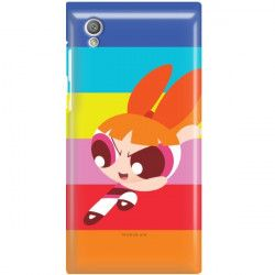 ETUI NA TELEFON SONY XPERIA L1 CARTOON NETWORK ATOMÓWKI WZÓR AT489