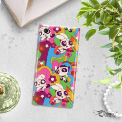 ETUI NA TELEFON SONY XPERIA M4 AQUA CARTOON NETWORK ATOMÓWKI WZÓR AT492