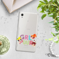 ETUI NA TELEFON SONY XPERIA M4 AQUA CARTOON NETWORK ATOMÓWKI WZÓR AT505