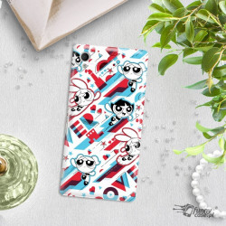 ETUI NA TELEFON SONY XPERIA M4 AQUA CARTOON NETWORK ATOMÓWKI WZÓR AT561
