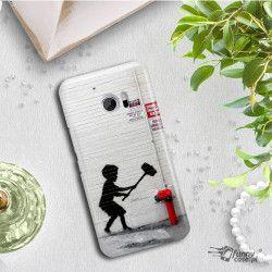 ETUI NA TELEFON HTC 10 BANKSY WZÓR BK178
