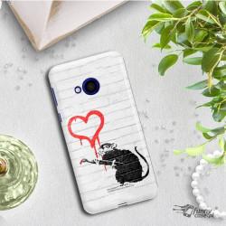 ETUI NA TELEFON HTC U PLAY BANKSY WZÓR BK110