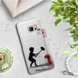 ETUI NA TELEFON HTC U ULTRA BANKSY WZÓR BK178