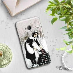 ETUI NA TELEFON HTC U11 LIFE BANKSY WZÓR BK100