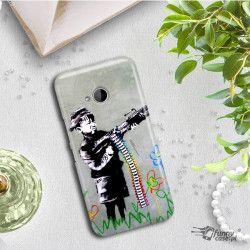 ETUI NA TELEFON HTC U11 LIFE BANKSY WZÓR BK162