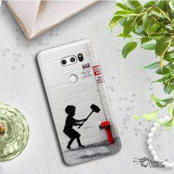 ETUI NA TELEFON LG V30 H930 BANKSY WZÓR BK178