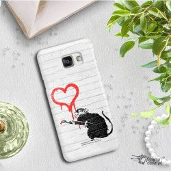 ETUI NA TELEFON SAMSUNG GALAXY A7 2016 A710 BANKSY WZÓR BK110