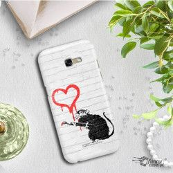 ETUI NA TELEFON SAMSUNG GALAXY A7 2017 A720  BANKSY WZÓR BK110